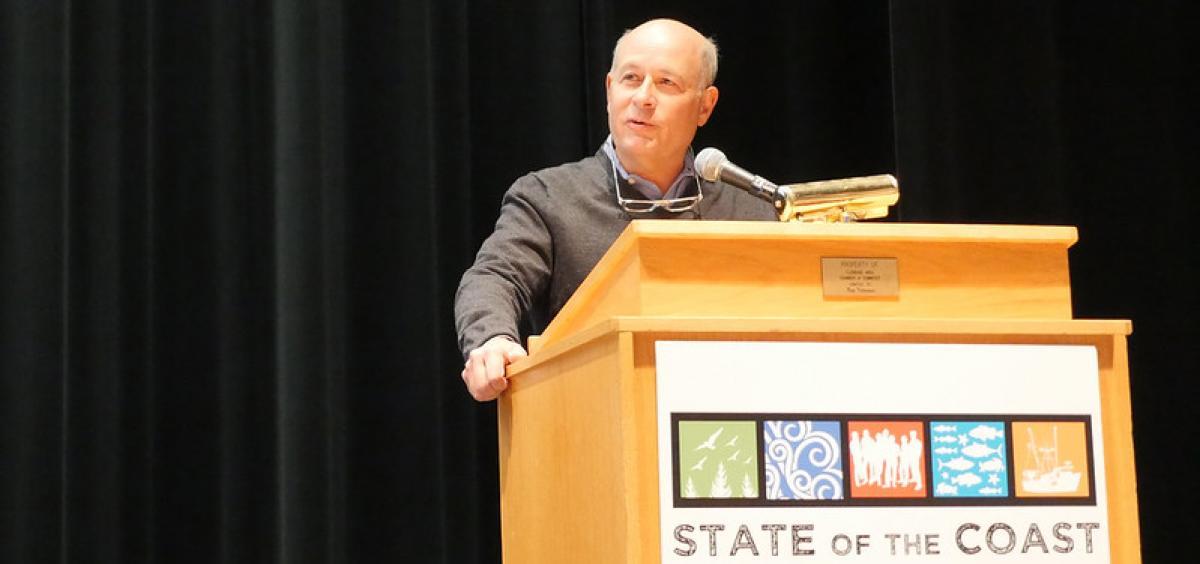 Rick Spinrad stands at a podium