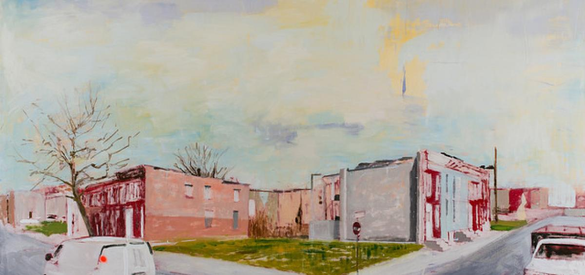 Baltimore, Maryland painting.