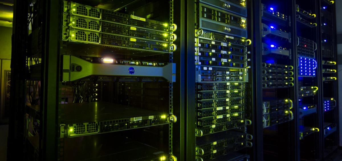 High-performance computing cluster at the Center for Genome Research and Biocomputing,