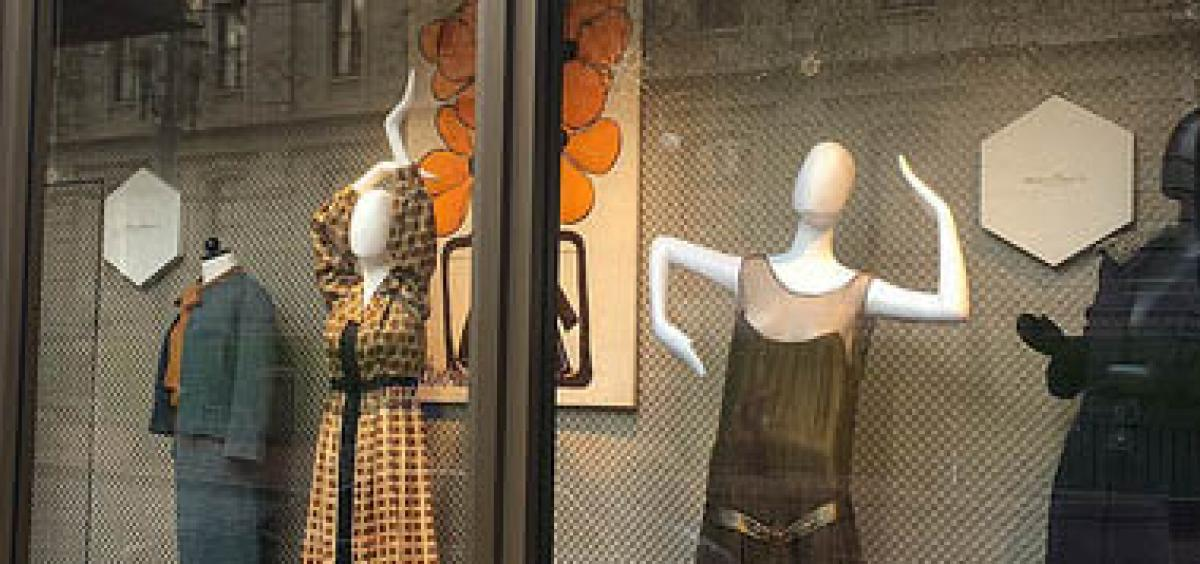 Vintage Meier Frank Fashions Return To Downtown Portland In New Display By Osu Students Oregon State University