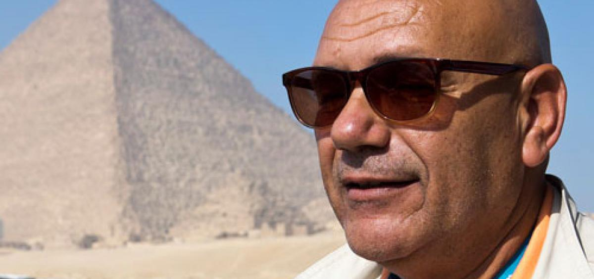 Egyptologist Hassan Latif is a Cairo native with nearly 30 years of experience guiding visitors, lecturing and tutoring.