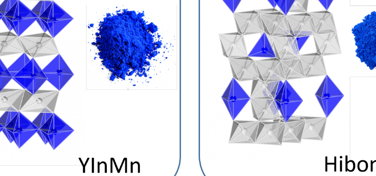 Pigment crystal structures