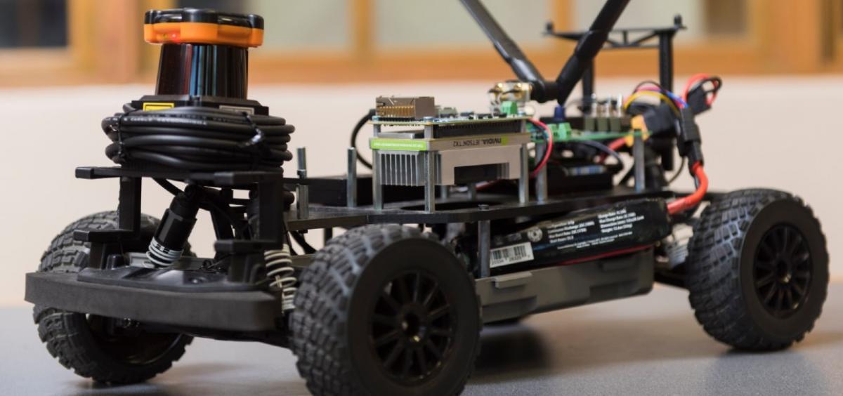 Autonomous mini car