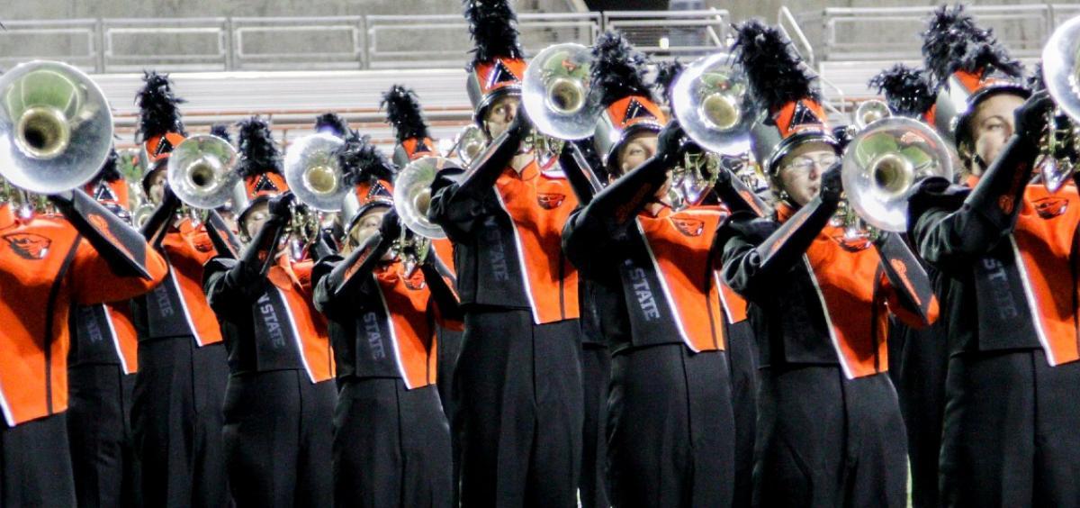 OSU marching band