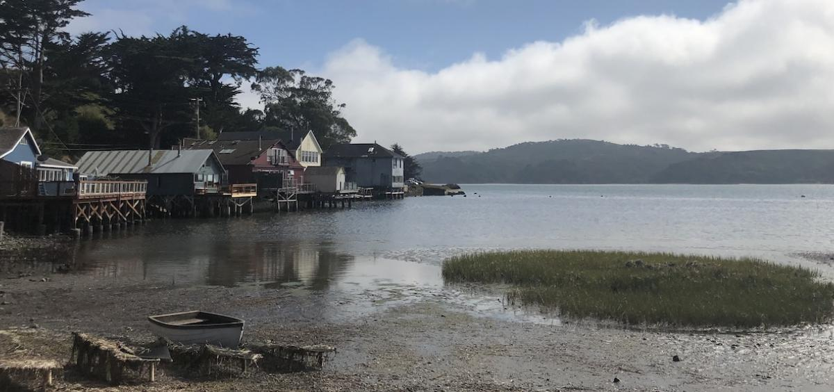 Example image of a coastal community