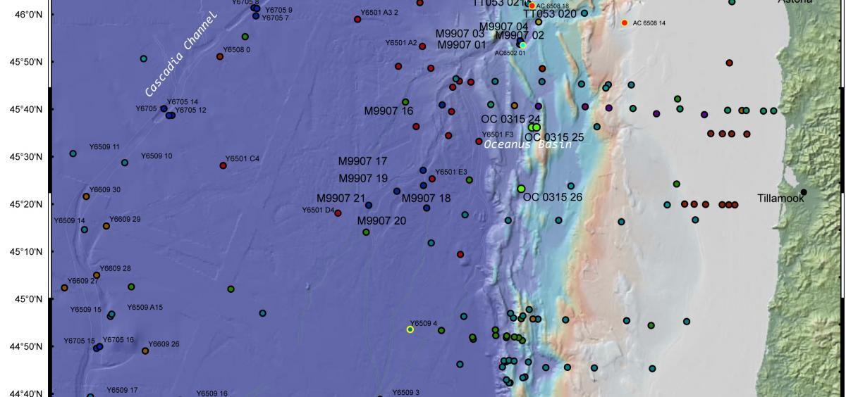 Subduction Zone Earthquakes Off Oregon Washington More Frequent