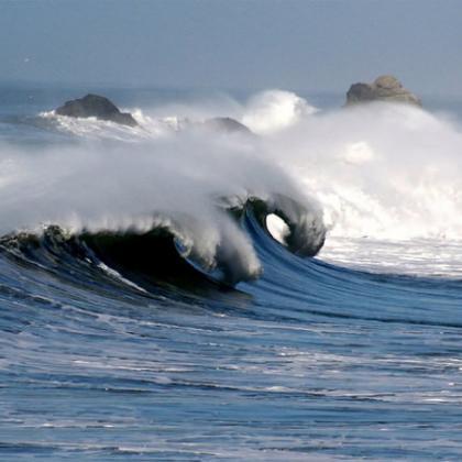 Ocean wave image