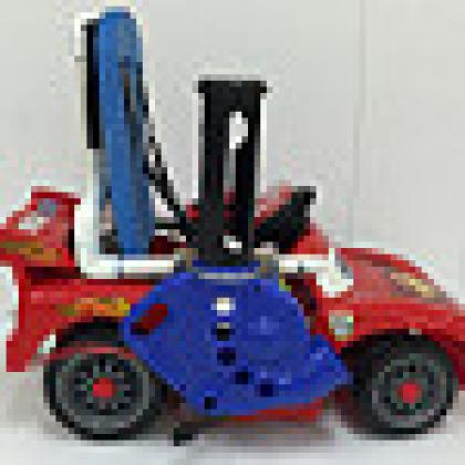Image of modified toy car