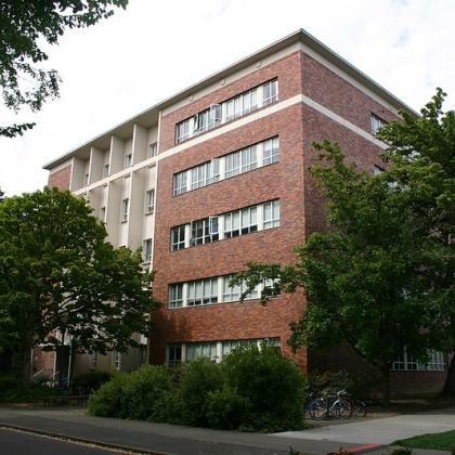 A view of Cordley Hall on the Oregon State University campus