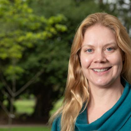 Angee Doerr is a new fisheries specialist for Oregon Sea Grant and Oregon State University Extension