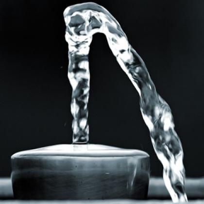 Stock image of clean water