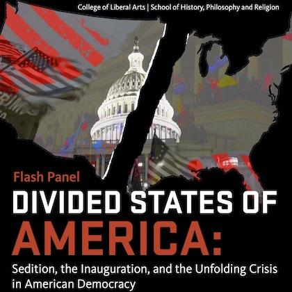 Divided States of America panel flyer