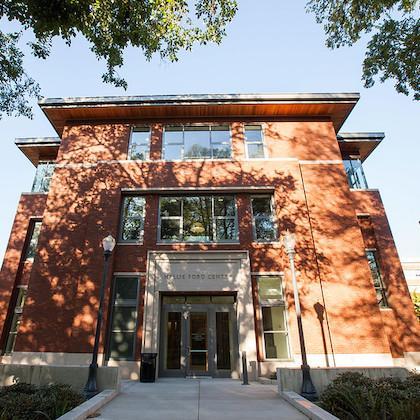 Hallie E. Ford Center on OSU campus