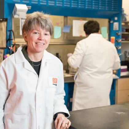 Jennifer Field is an environmental chemist at Oregon State University