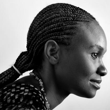 Portrait of Lydia Chipimo, Zambia.