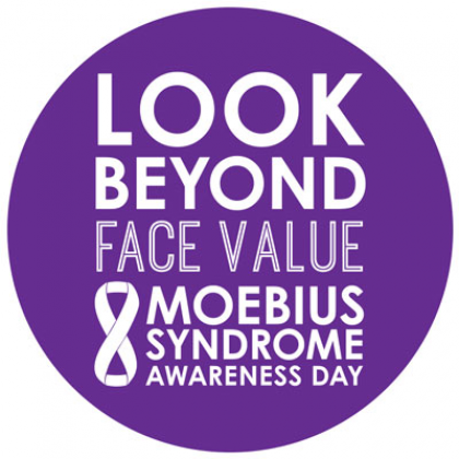 Look Beyond Face Value - Moebius Syndrome Awareness Day logo