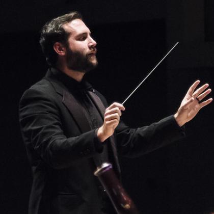 Olin Hannum conducting