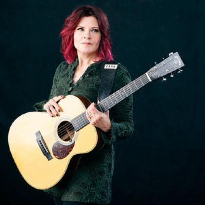Singer-songwriter Rosanne Cash