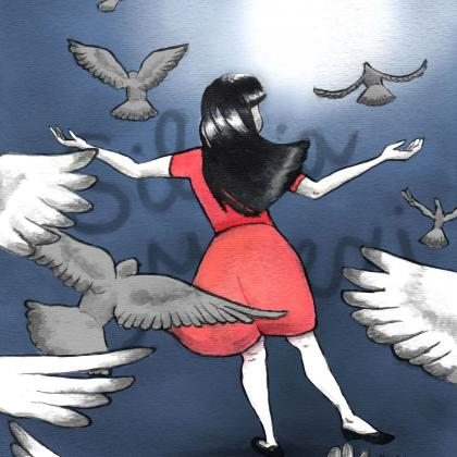artwork of Silvia Milexi Rivera Sanchez