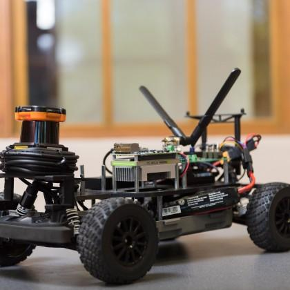 mini autonomous car