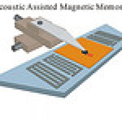 Magnetic storage graphic