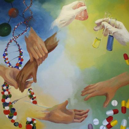 Medicine mural