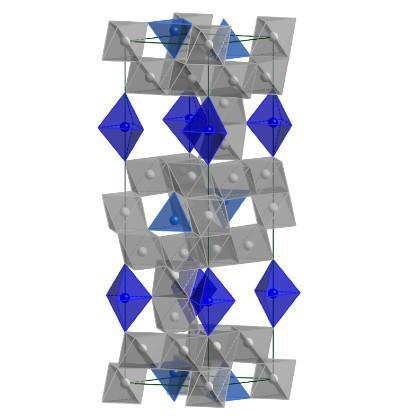Hibonite blue