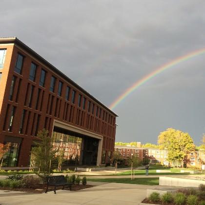 rainbow at OSU