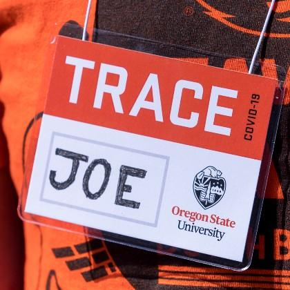 TRACE name tag