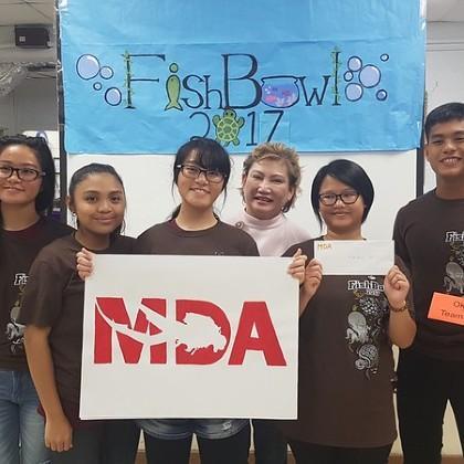Students in Guam