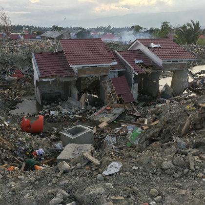 Quake rubble