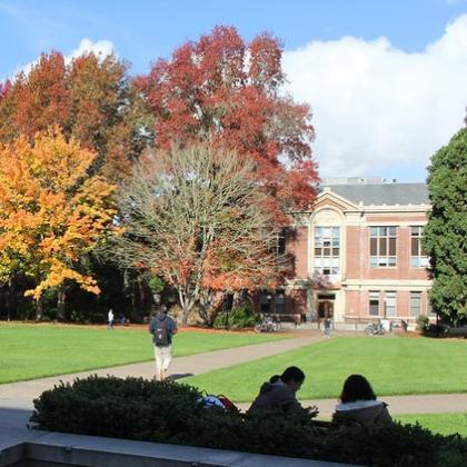 OSU campus in autumn