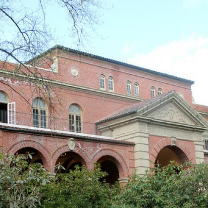 Women's building on OSU campus